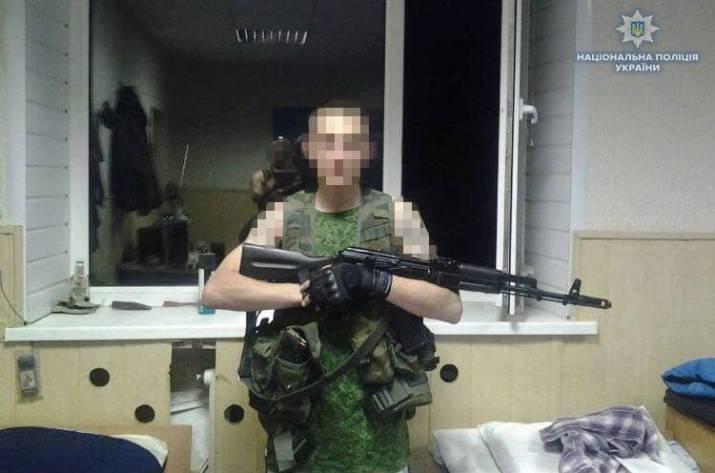 В с. Светличное Попаснянского района бойцы батальона «Луганск-1» задержали 25-летнего боевика