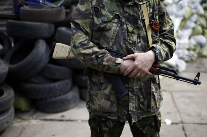 Под огнем боевиков оказалось Крымское