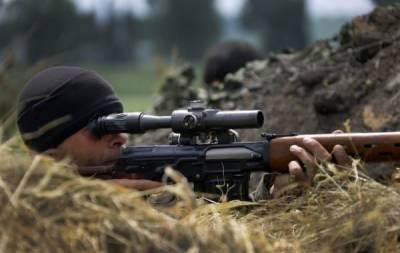 снайпер боевиков