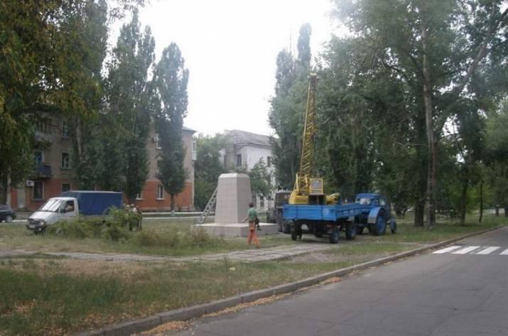 В Рубежном придумали, чем заменить Ленина