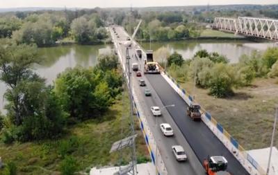 На Донетчине завершается ремонт моста через Северский Донец