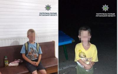 В Рубежном пьяная мать забыла ребенка ночью на детской площадке