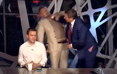 Шахов и Мосийчук устроили драку в прямом эфире (видео)