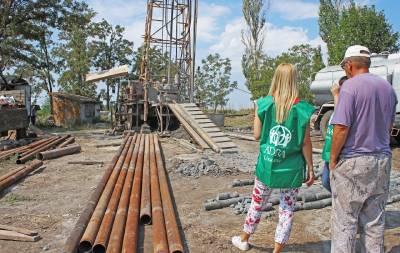 Прифронтовая Новомихайловка будет обеспечена питьевой водой