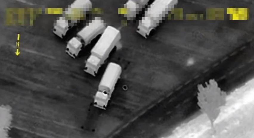 Доказательство российского вторжения в Украину (видео)