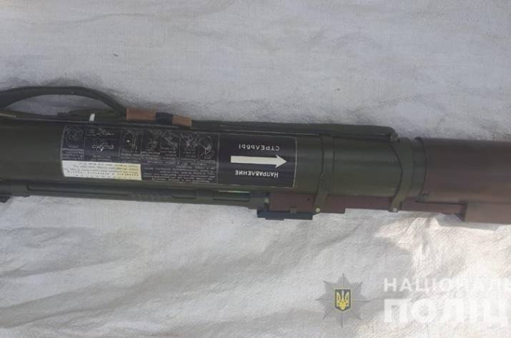 На Луганщине у местной жительницы обнаружен гранатомёт
