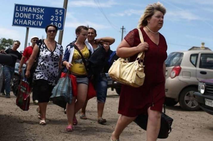 В Луганской области зарегистрировано 287 тысяч переселенцев