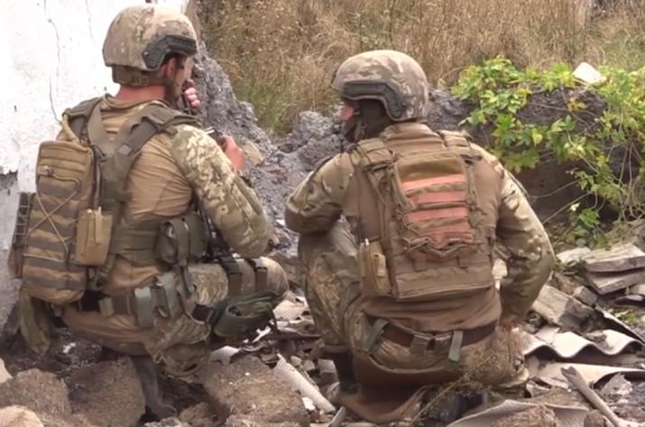 Объединенные силы провели зачистку села в Донецкой области