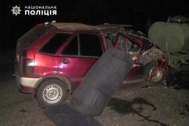 На выезде из Северодонецка произошло ДТП с пострадавшим