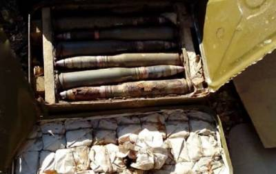 В Луганской области обнаружен тайник с арсеналом боеприпасов