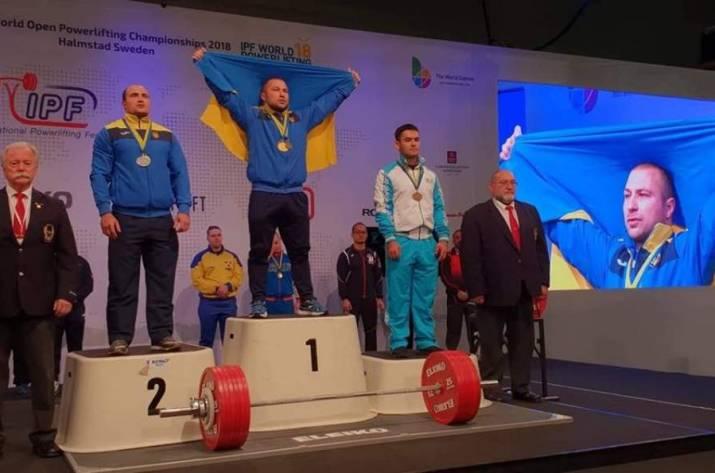 Рубежанин стал серебряным призером на чемпионате мира по пауэрлифтингу в Швеции