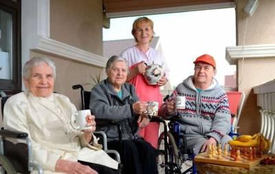 дом пристарелых для стариков