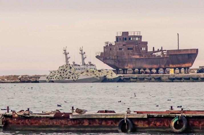 Стало известно, где сейчас захваченные Россией украинские корабли (фото)