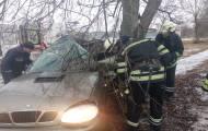 Сегодня, 6 декабря, в 08:18 в Службу спасения поступило сообщение о том, что в Северодонецке по ул. Новикова случилось ДТП.