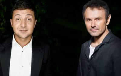 Музыкант Святослав Вакарчук заявил, что такого политика, как Владимир Зеленский не знает