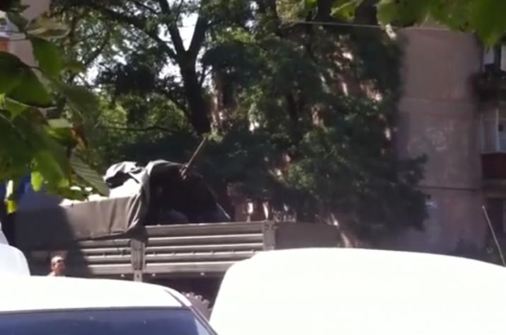 Казанский показал важное видео с лета 2014 года на Донбассе