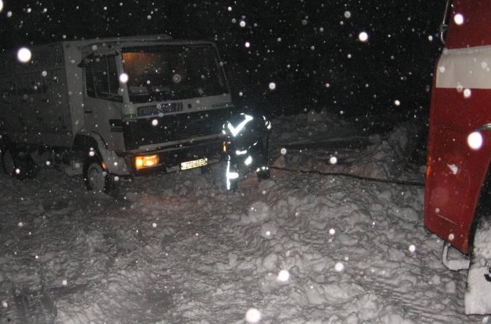 На протяжении суток спасатели Луганщины 8 раз выезжали на помощь водителям, которые из-за ухудшения погодных условий оказались в сложных ситуациях.