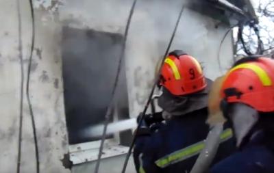 В Лисичанске во время пожара погиб мужчина