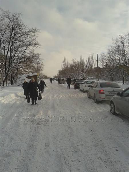 Житель Горловки: на блокпостах со стороны