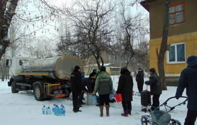 В Торецке сегодня, 14 января, планируют отремонтировать повреждённый водопровод