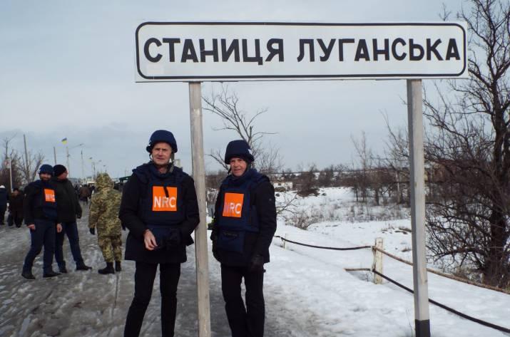 Сегодня, 12 февраля, в Станицу Луганскую с рабочим визитом прибыла делегация Королевства Норвегии.