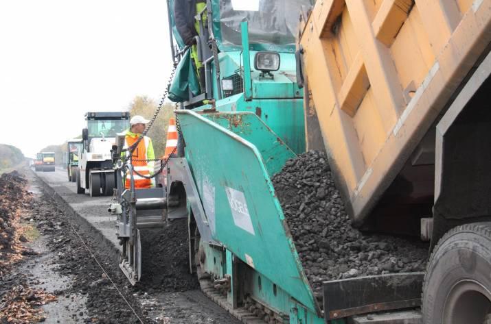 Продолжается проведение текущего среднего ремонта на автомобильной дороге общего пользования государственного значения Н-26