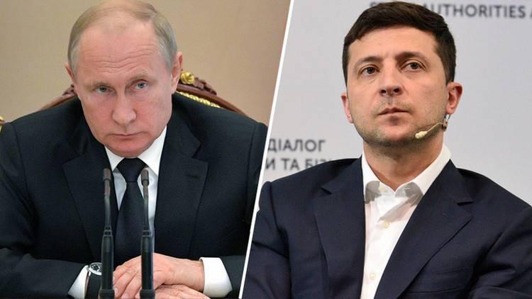 Путин объяснил, почему Зеленский не может обеспечить разведение сил в Донбассе