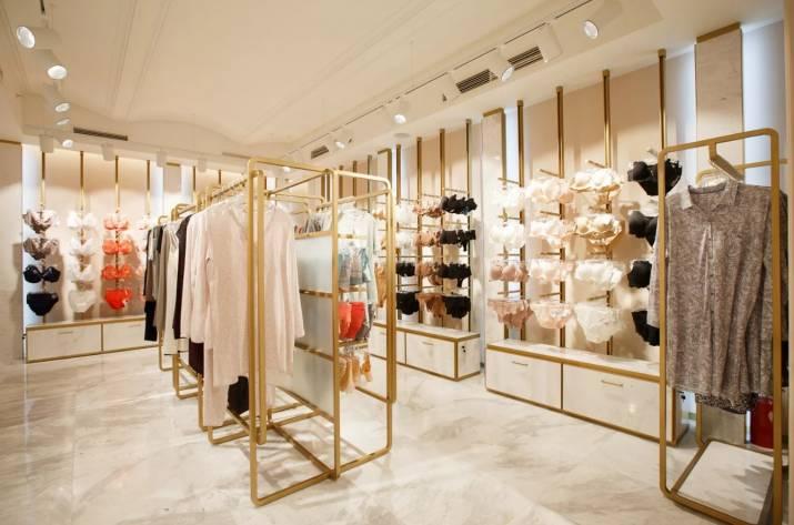 дизайн для магазина женского белья