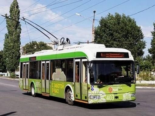 В Северодонецке приостановят движение троллейбусов