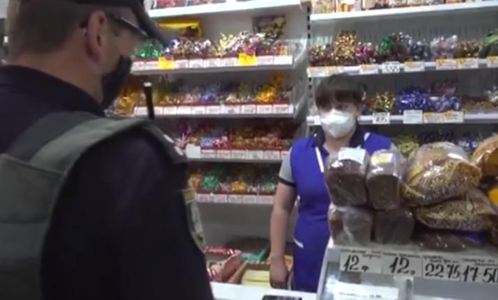 В Рубежном полиция провела карантинный рейд (видео)