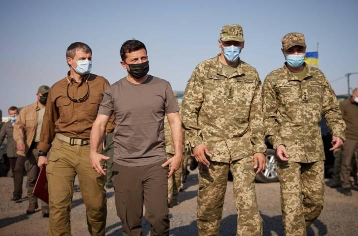 Вчера, 26 сентября, в ходе рабочей поездки в Донецкую область президент Украины Владимир Зеленский побывал в базовом лагере Главного управления разведки.