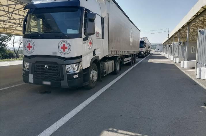 Вчера, 15 октября, через контрольный пункт въезда-выезда «Новотроицкое» международные организации направили для жителей временно оккупированной территории гуманитарную помощь.