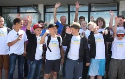 Станица Луганская дети