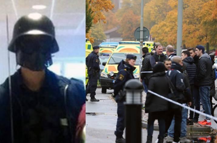 Резня в Швеции: убийца был в костюме Дарта Вейдера, что поначалу выглядело, как шутка