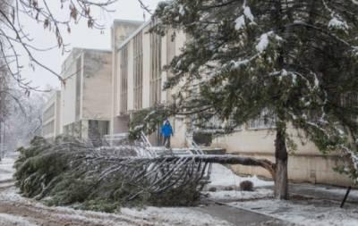 Харьков снегопад