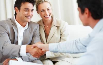 бизнес контакт с клиентом