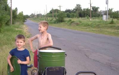 в Лисичанске нет воды
