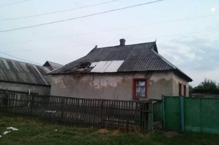 ВМарьинке обстреляли жилые кварталы: ранены двое детей