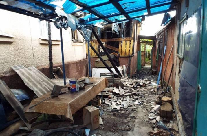 ГПСУ: Станица Луганская угодила под обстрел изгранатометов