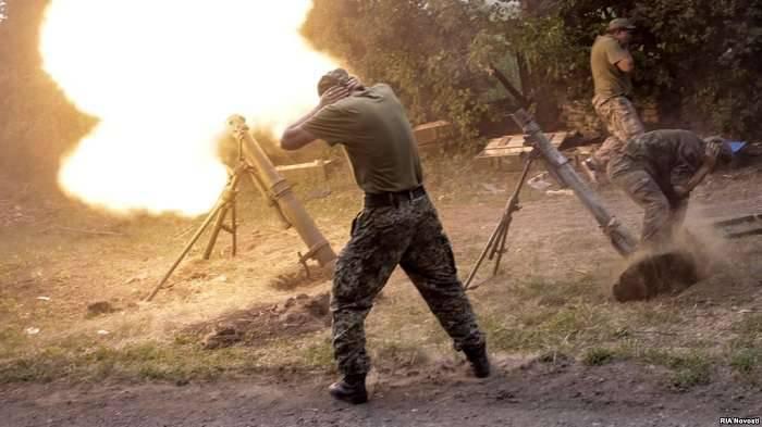 ВДонецкой области украинским правоохранителям сдался командир расчета боевиков