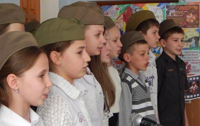 луганские школьники