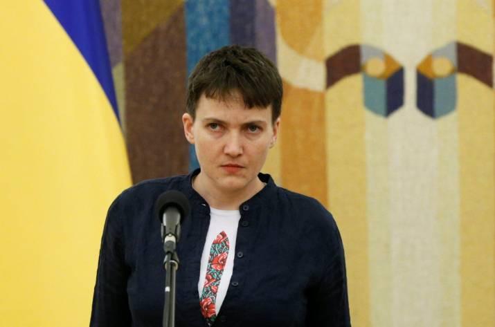 Савченко назвала РФ «дикарской страной» ипризвала готовиться к 3-й мировой войне