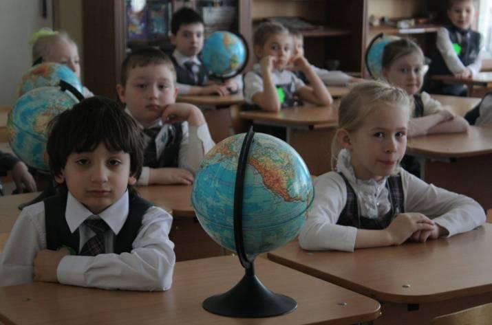 Школьники