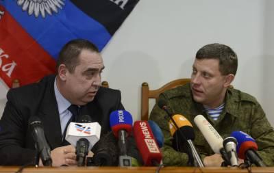 Захарченко Плотницкий