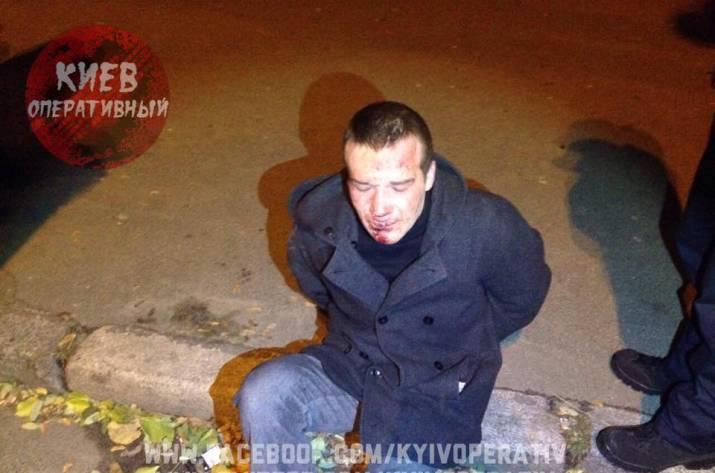 ВКиеве школьники словили вора, проучили его ипередали милиции