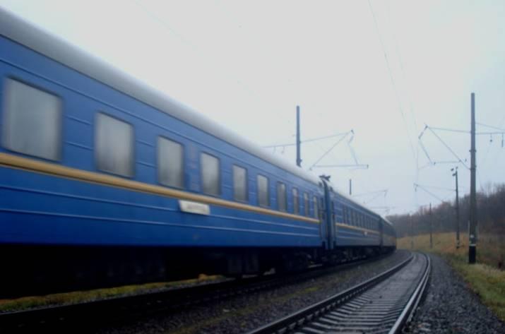 ВХмельницком поезд переехал пожилого мужчину