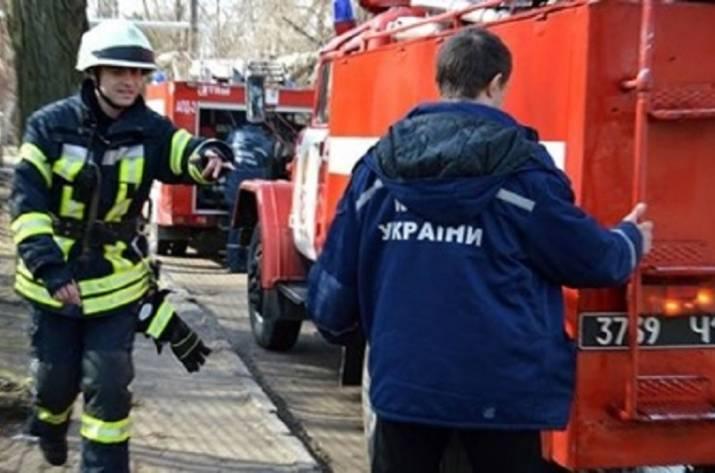 ВДнепре произошел пожар вшколе, умер педагог