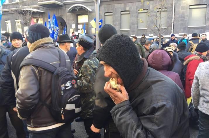 акции протеста под Нацбанком
