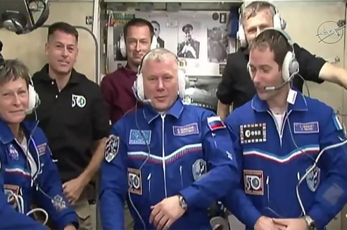 На МКС прибыл 50-ый экипаж