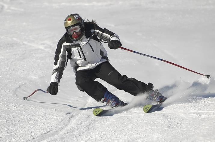 лыжи кататься на лыжах
